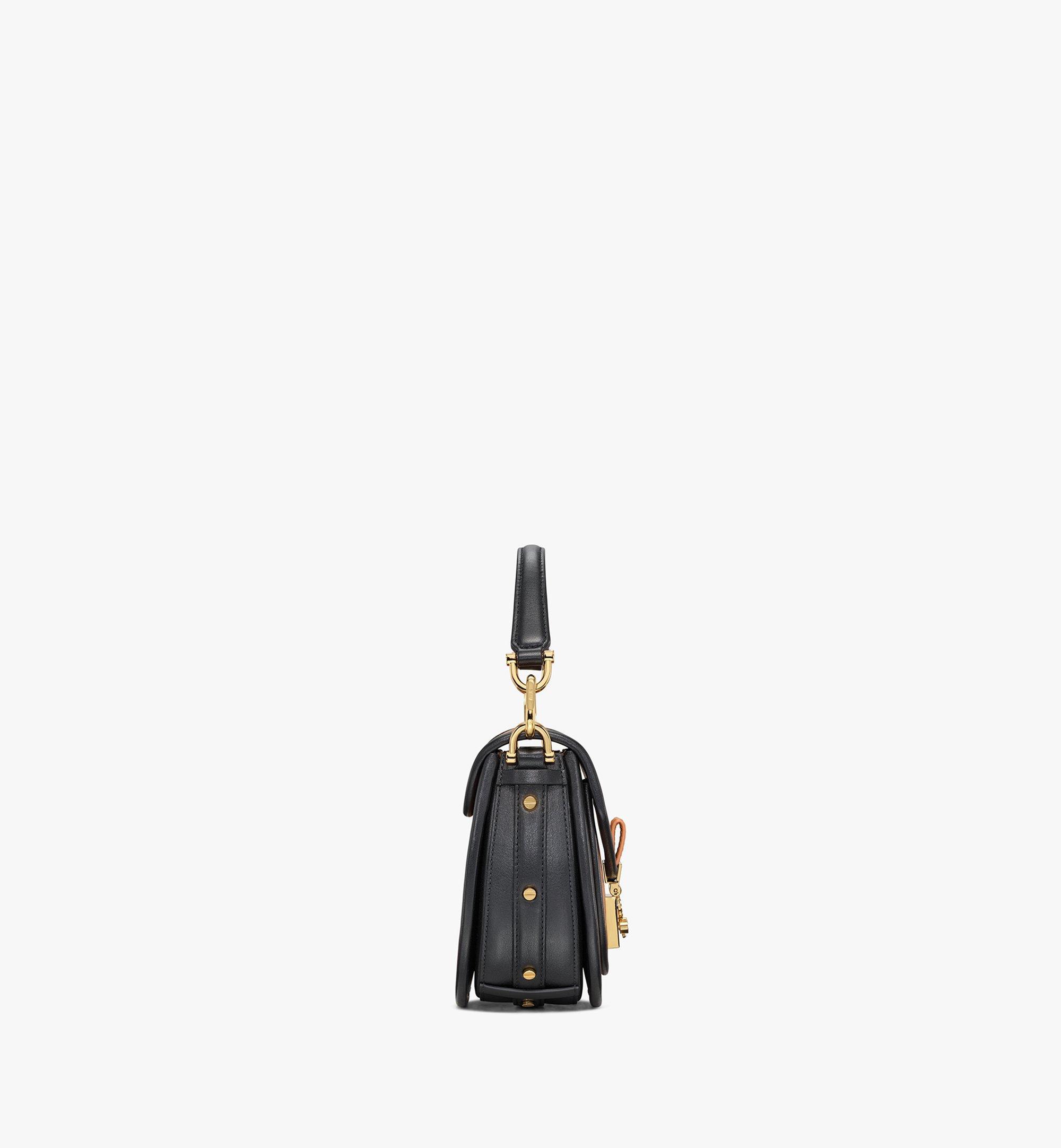 MCM Patricia Shoulder Bag in Visetos Leather Block Cognac MWSAAPA09CO001 Alternate View 1