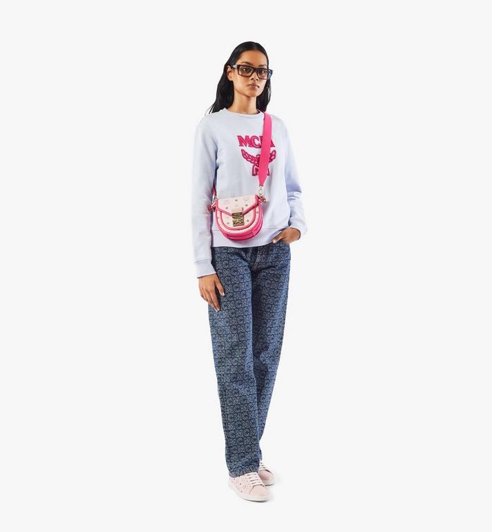 MCM 〈パトリシア〉ショルダーバッグ - ヴィセトス レザー ブロック Pink MWSAAPA09QH001 Alternate View 5