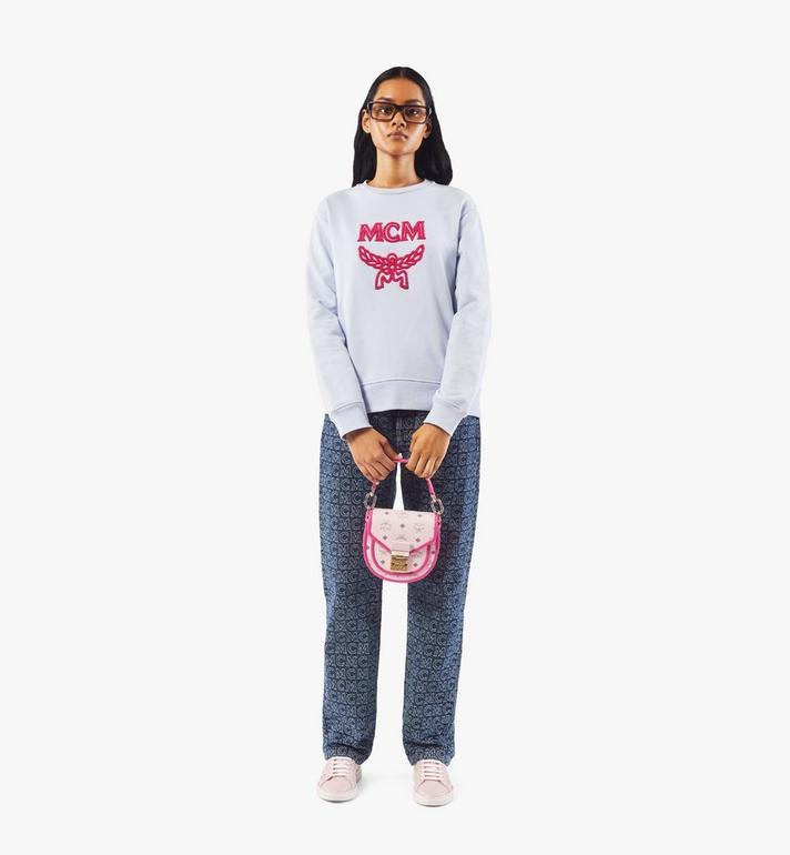 MCM 〈パトリシア〉ショルダーバッグ - ヴィセトス レザー ブロック Pink MWSAAPA09QH001 Alternate View 6