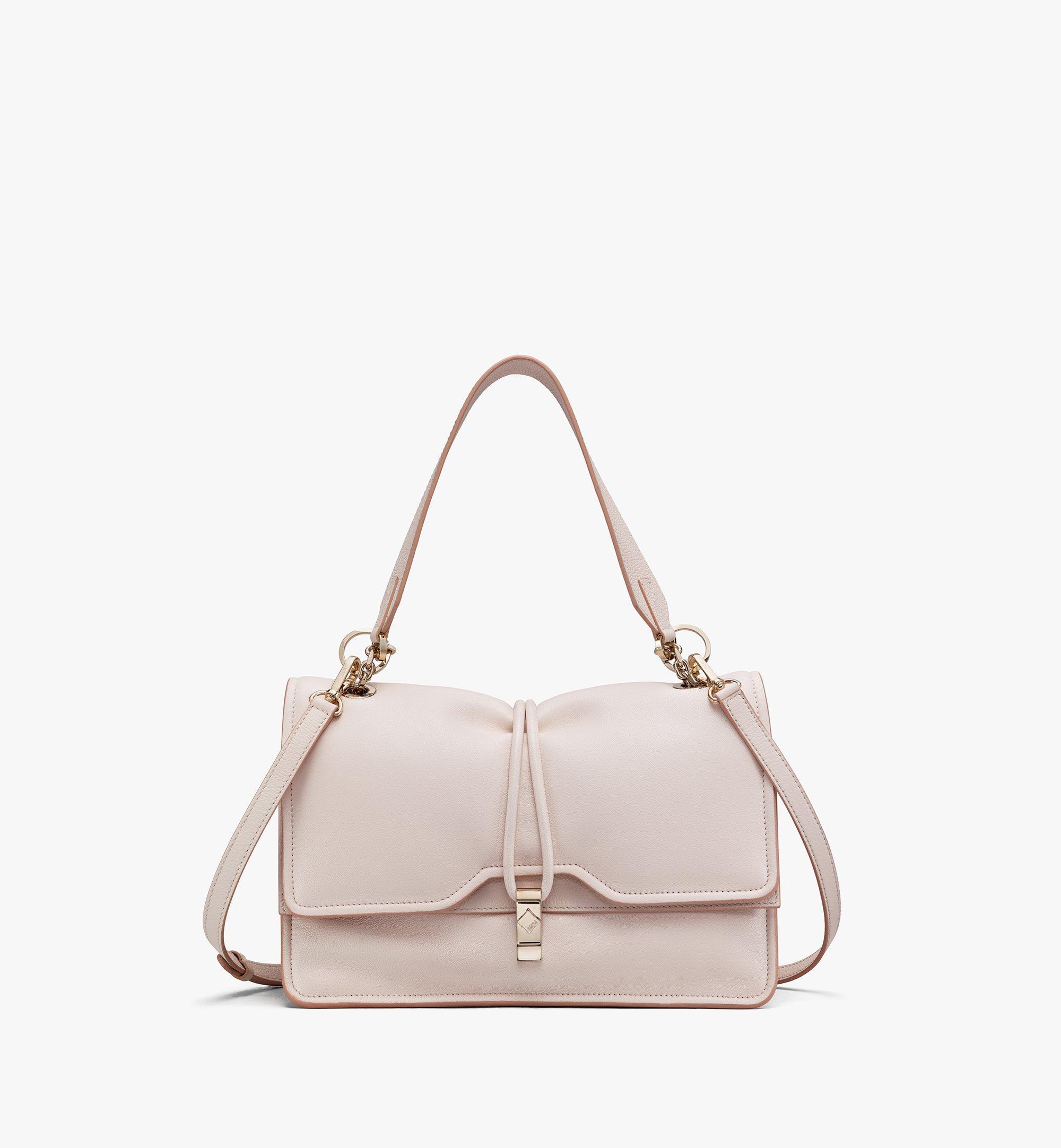MCM Candy Shoulder Bag in Nappa Leather Beige MWSASCY04IH001 Alternate View 1