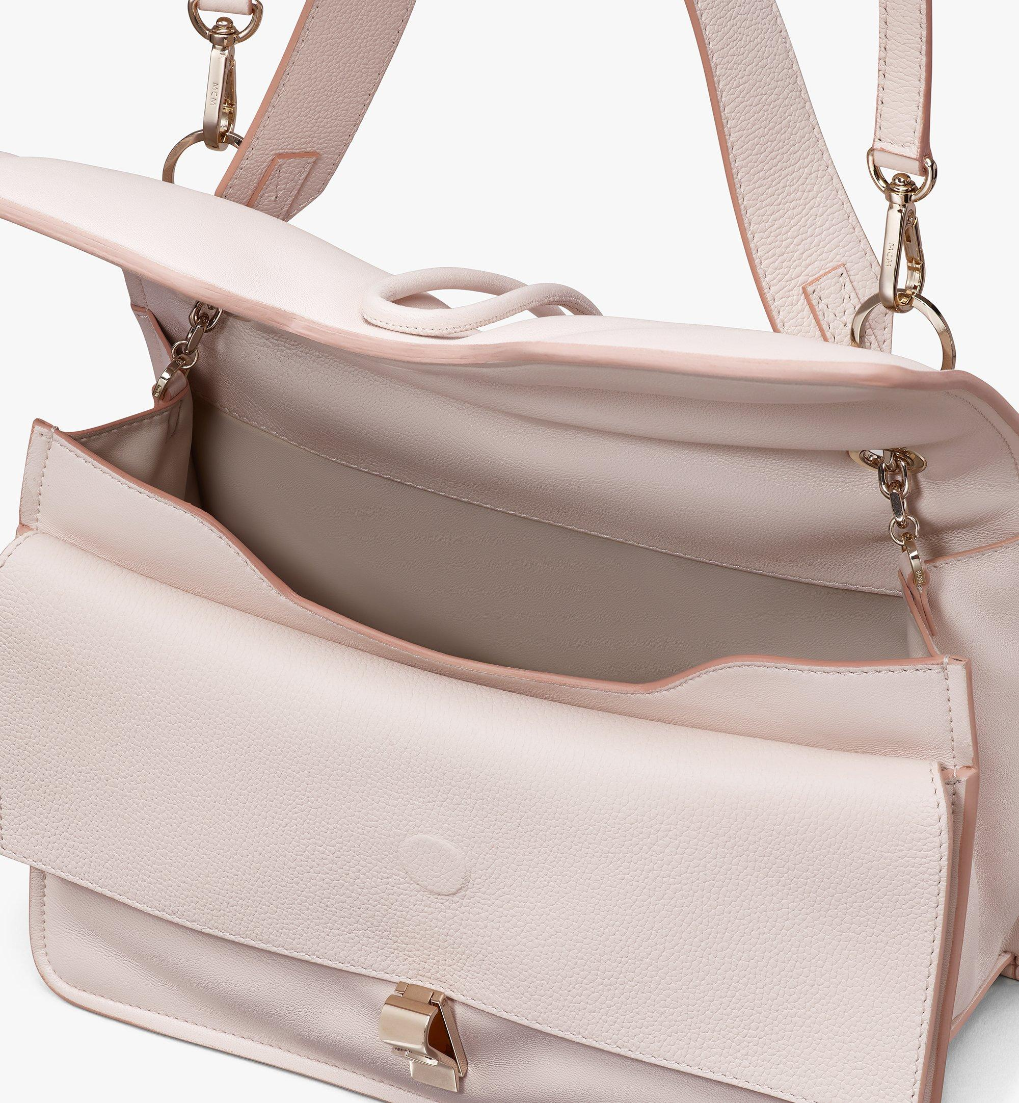 MCM Candy Shoulder Bag in Nappa Leather Beige MWSASCY04IH001 Alternate View 3