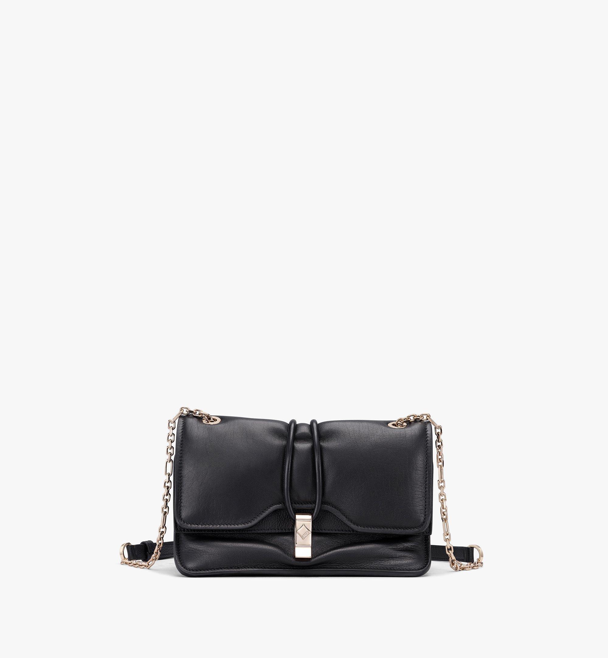 MCM Candy Shoulder Bag in Nappa Leather Black MWSASCY05BK001 Alternate View 1