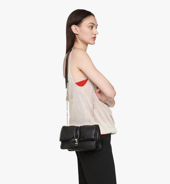 MCM Candy Shoulder Bag in Nappa Leather Black MWSASCY05BK001 Alternate View 5
