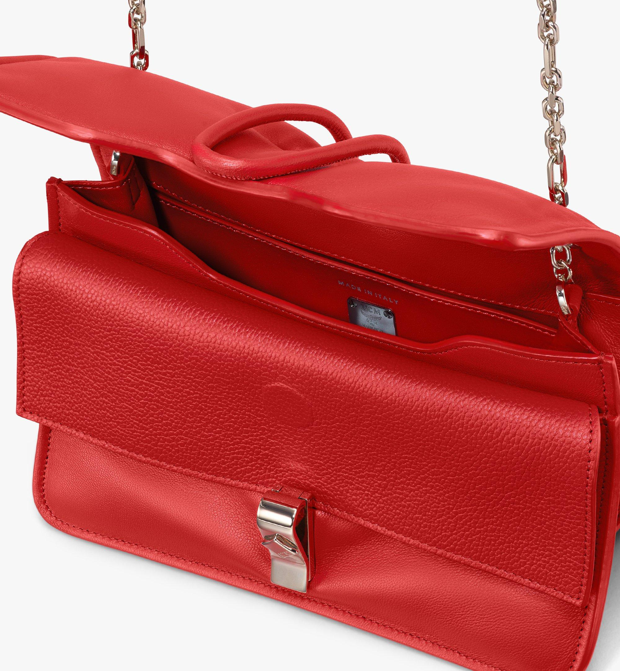 MCM Candy Shoulder Bag in Nappa Leather Red MWSASCY05R4001 Alternate View 4