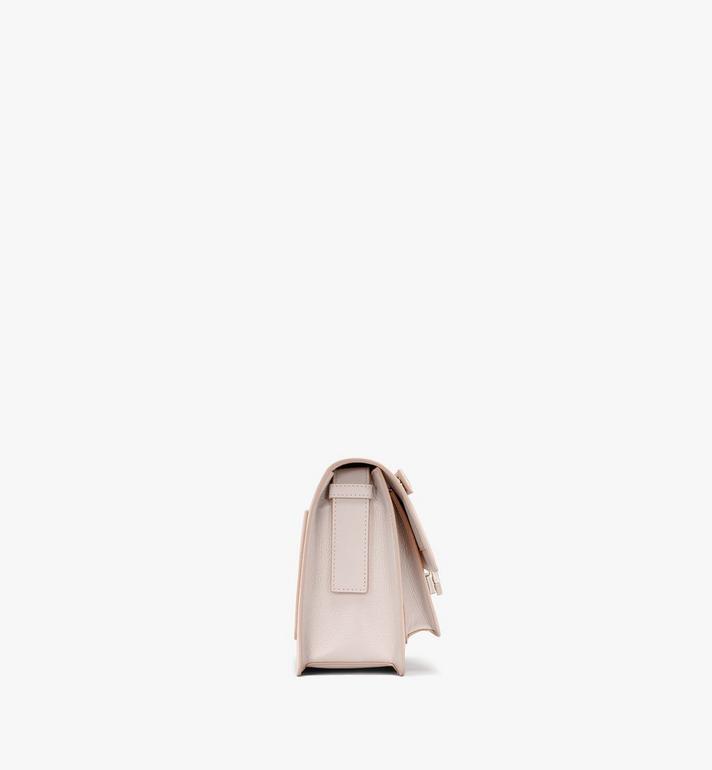 MCM Milano Shoulder Bag in Goatskin Leather Beige MWSASDA01IH001 Alternate View 2