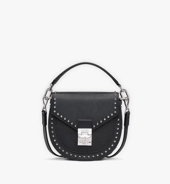 MCM Patricia Shoulder Bag in Studded Park Ave Leather Alternate View