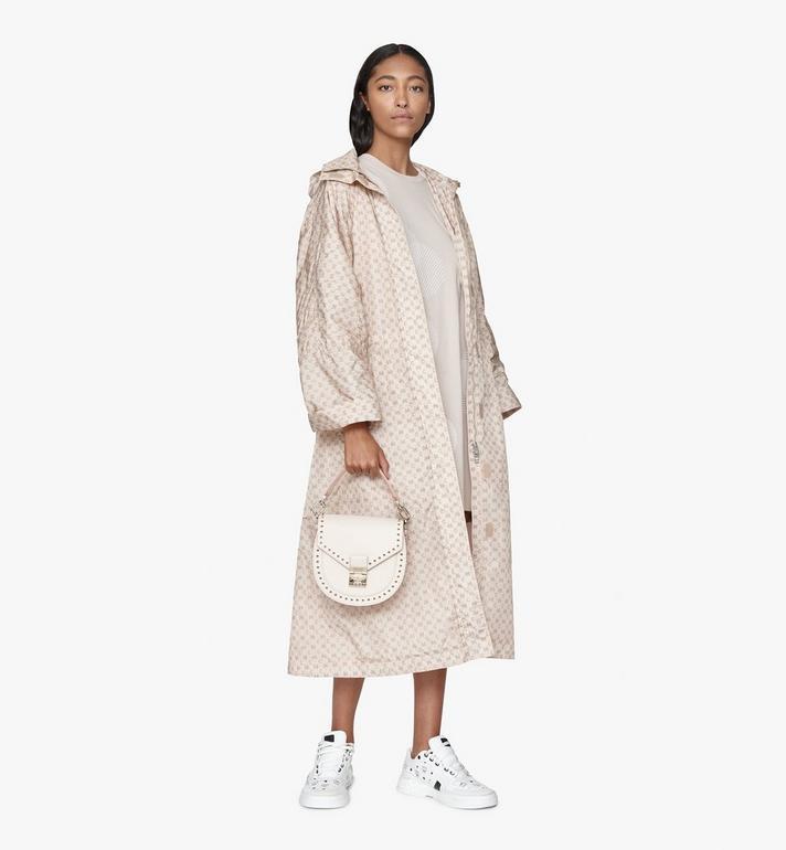 MCM Patricia Shoulder Bag in Studded Park Ave Leather Beige MWSASPA01IH001 Alternate View 5
