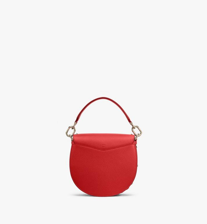 MCM Patricia Shoulder Bag in Studded Park Ave Leather Red MWSASPA01R4001 Alternate View 3