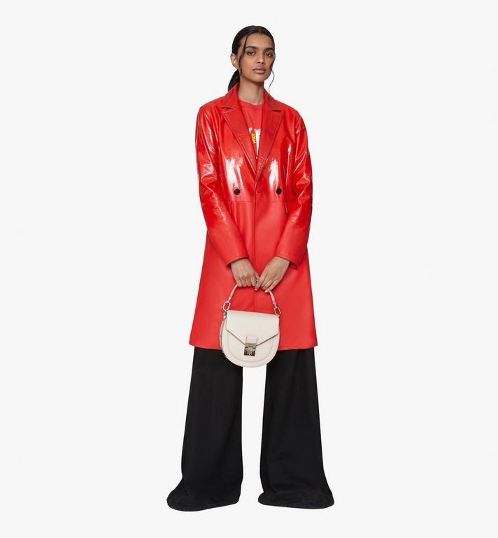 MCM Patricia Shoulder Bag in Park Avenue Leather Pink MWSASPA03IH001 Alternate View 5