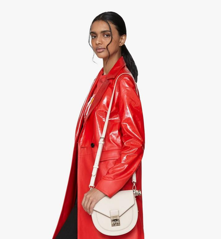 MCM Patricia Shoulder Bag in Park Avenue Leather Pink MWSASPA03IH001 Alternate View 6