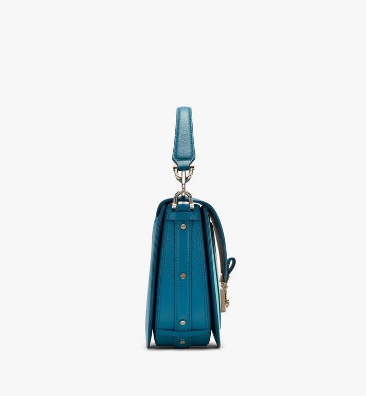 MCM Patricia Shoulder Bag in Color Block Leather Blue MWSASPA05JF001 Alternate View 2
