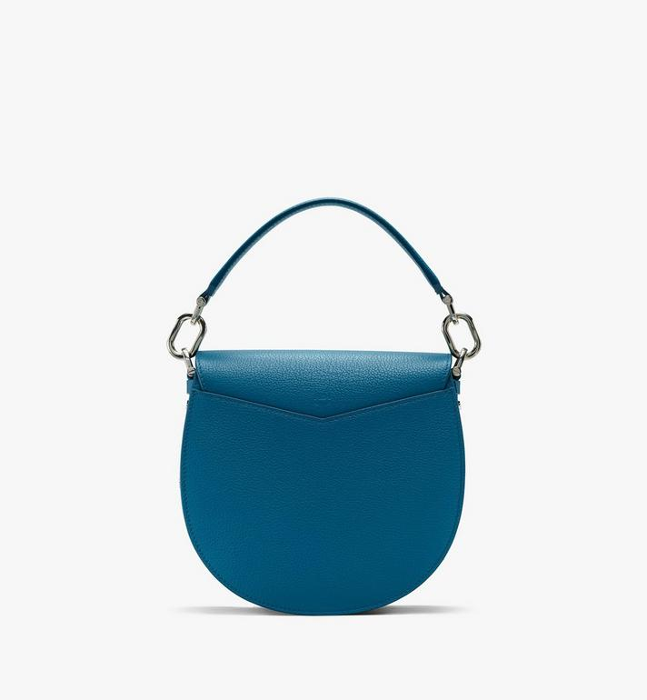 MCM Patricia Shoulder Bag in Color Block Leather Blue MWSASPA05JF001 Alternate View 3