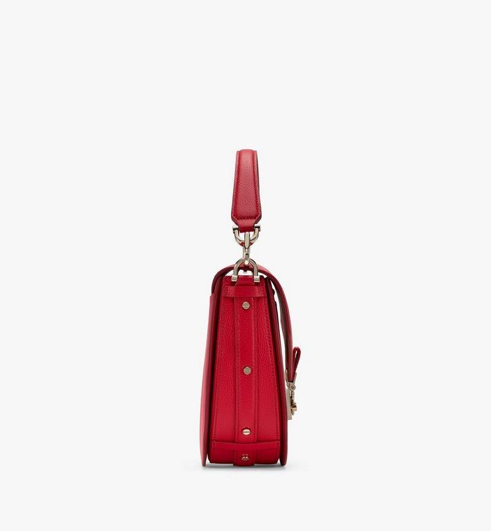 MCM Patricia Shoulder Bag in Color Block Leather Red MWSASPA05R4001 Alternate View 2