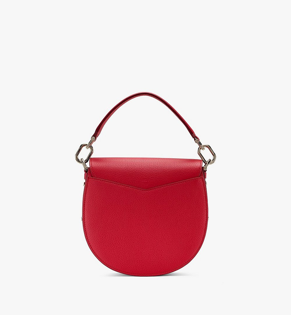 MCM Patricia Shoulder Bag in Color Block Leather Red MWSASPA05R4001 Alternate View 2