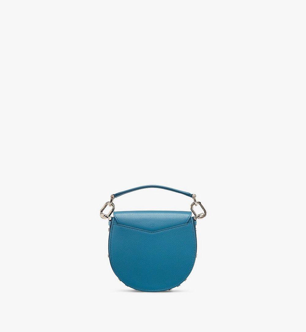 MCM Patricia Shoulder Bag in Color Block Leather Blue MWSASPA06JF001 Alternate View 2