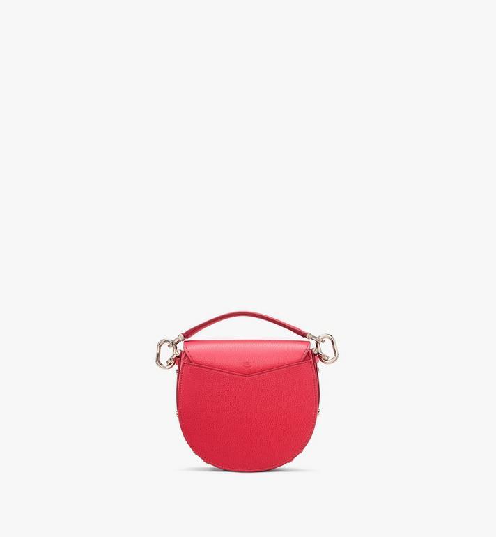 MCM Patricia Shoulder Bag in Color Block Leather Red MWSASPA06R4001 Alternate View 3