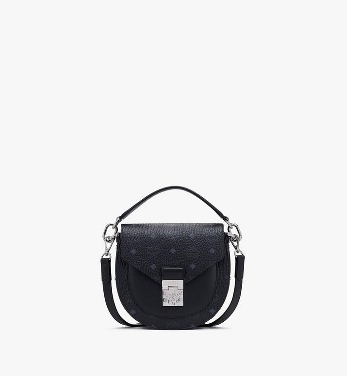 Small Patricia Schultertasche in Visetos Black | MCM® DE