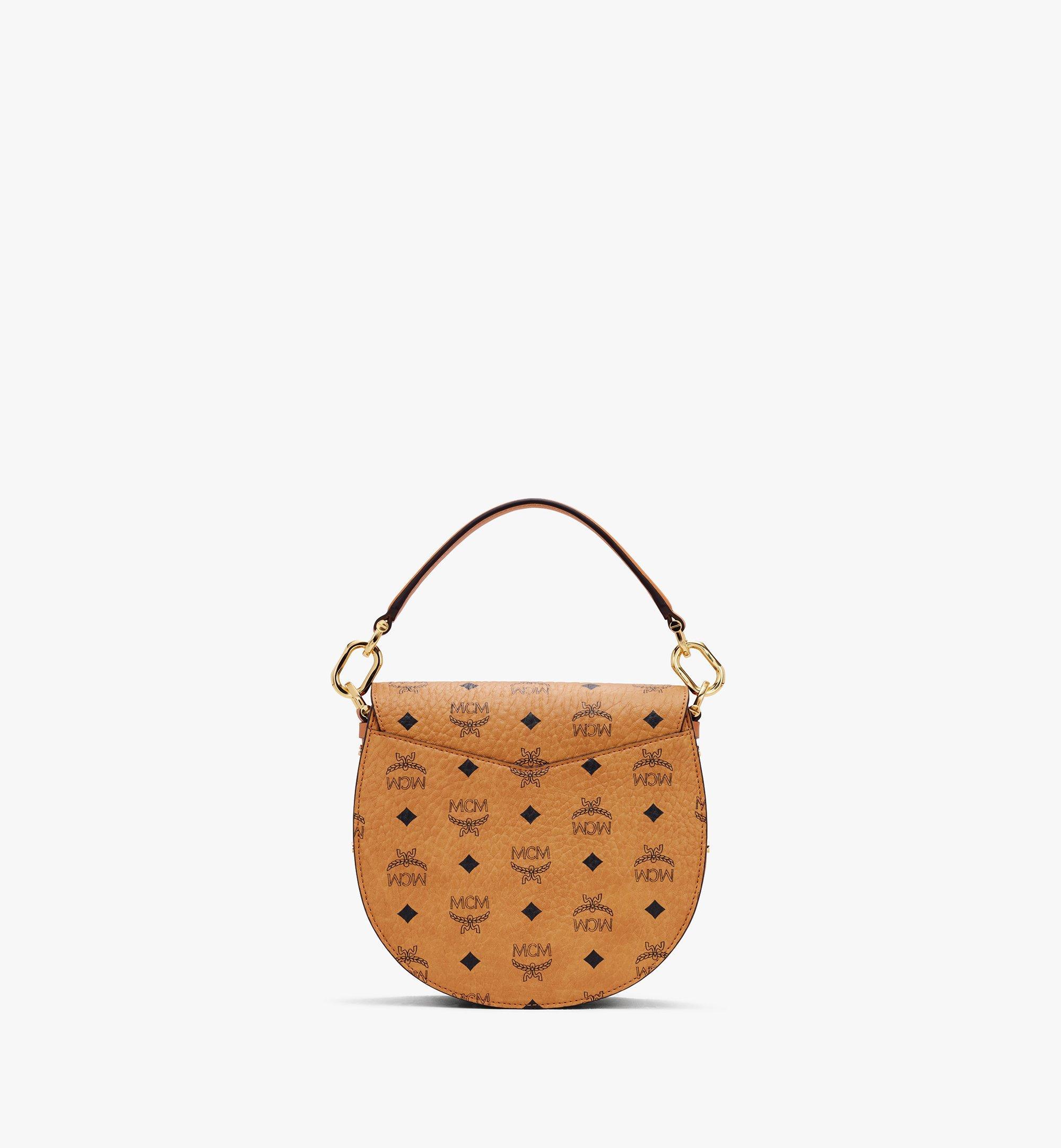 MCM Patricia Shoulder Bag in Visetos Cognac MWSASPA07CO001 Alternate View 2
