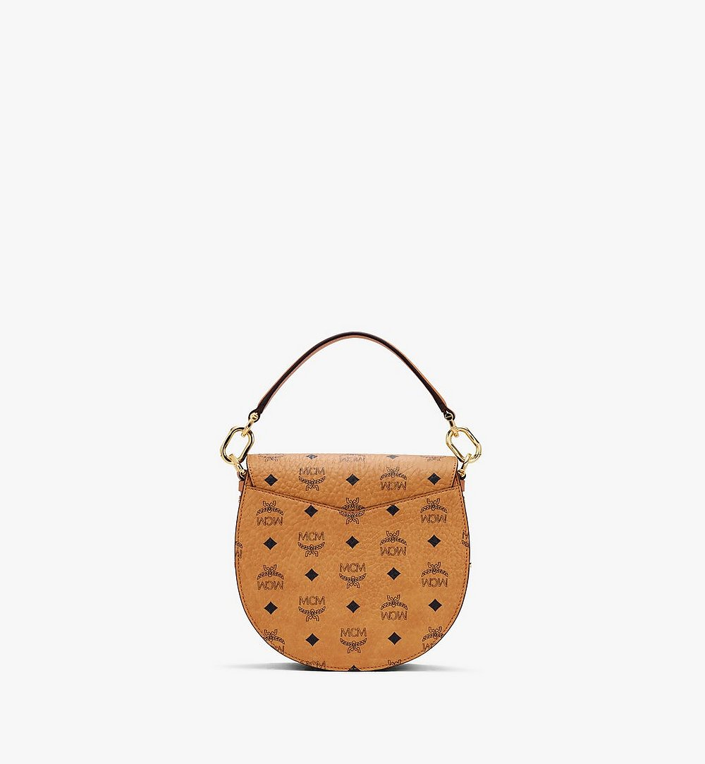 MCM Patricia Shoulder Bag in Visetos Cognac MWSASPA07CO001 Alternate View 2