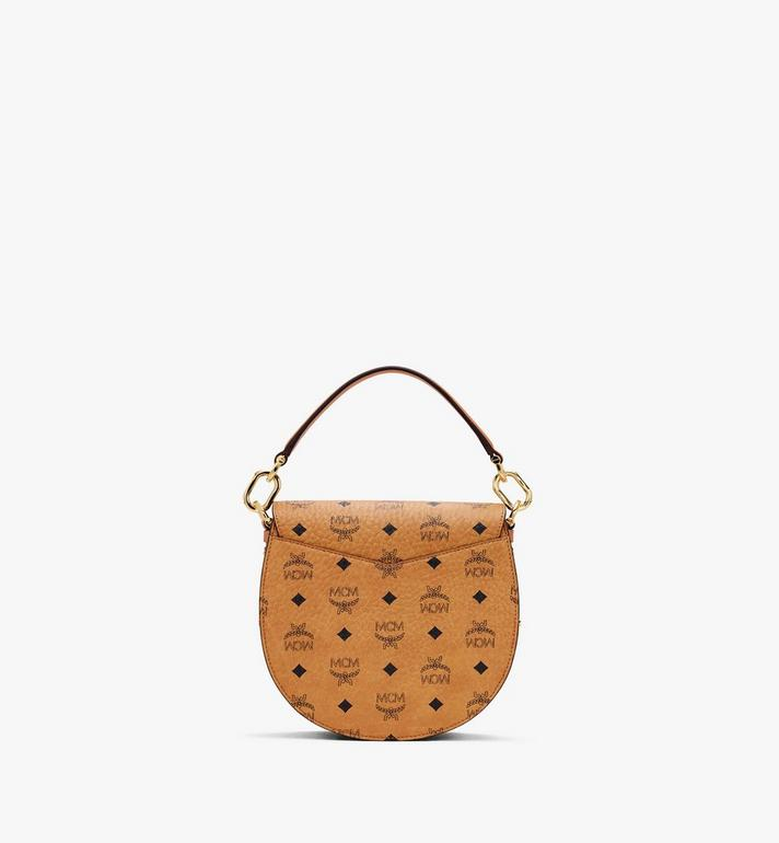 MCM Patricia Shoulder Bag in Visetos Cognac MWSASPA07CO001 Alternate View 3