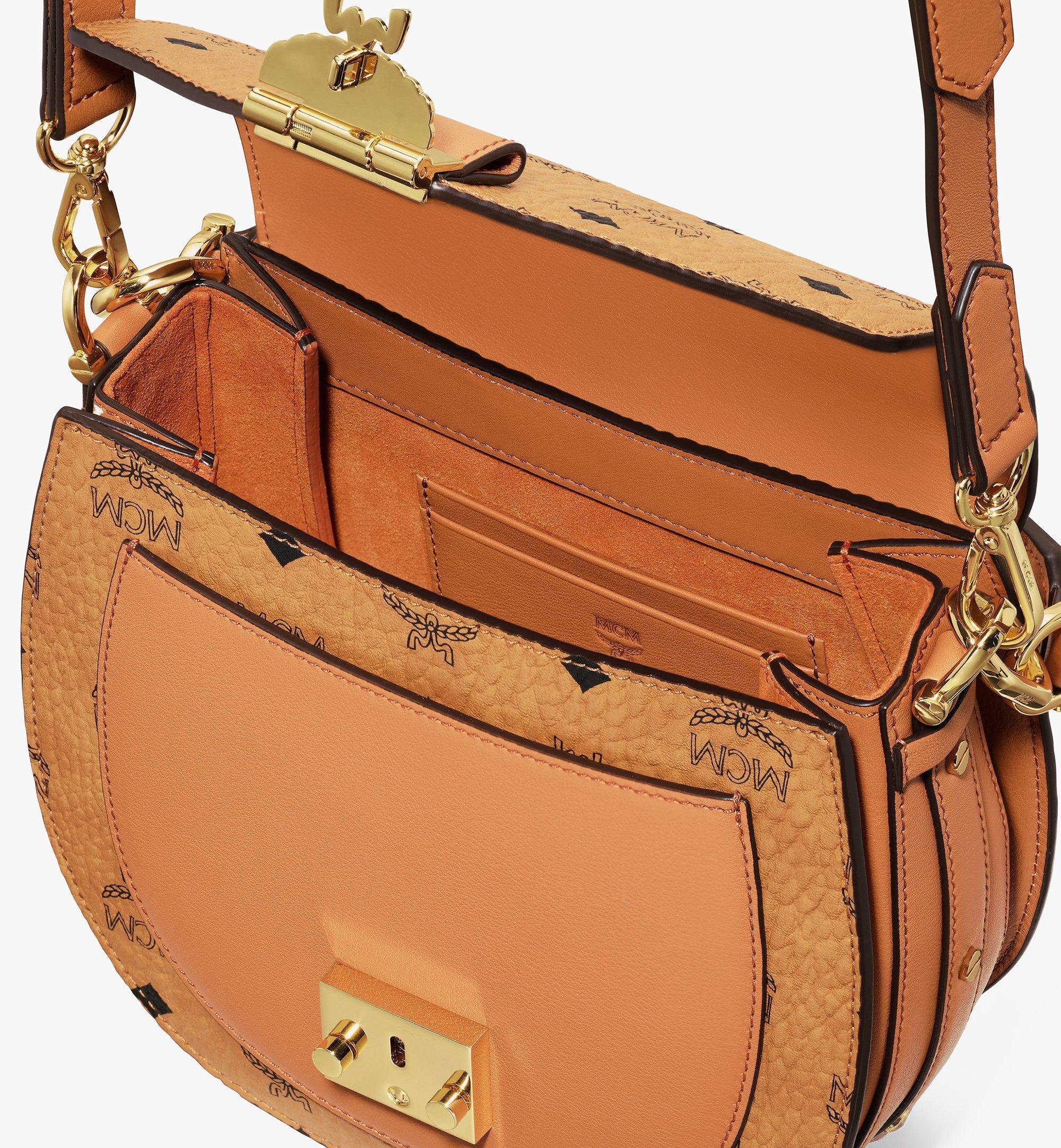 MCM Patricia Shoulder Bag in Visetos Cognac MWSASPA07CO001 Alternate View 3