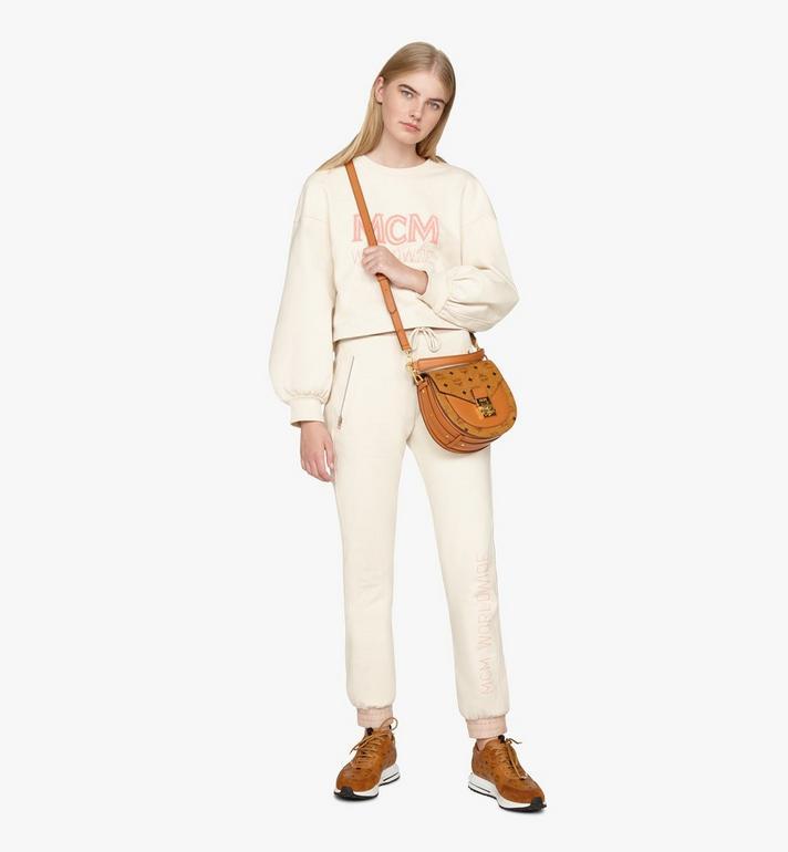 MCM Patricia Shoulder Bag in Visetos Cognac MWSASPA07CO001 Alternate View 5