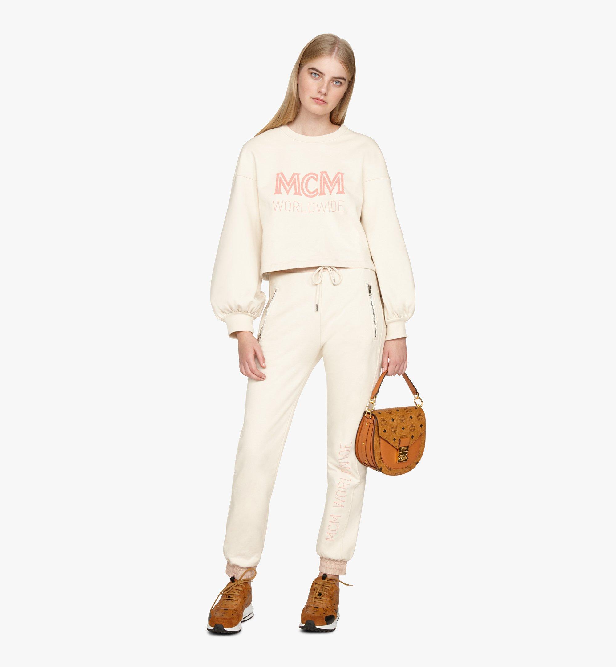 MCM Patricia Shoulder Bag in Visetos Cognac MWSASPA07CO001 Alternate View 4