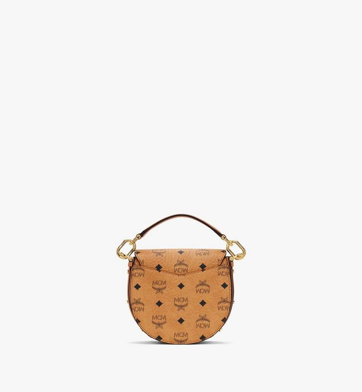 MCM Patricia Shoulder Bag in Visetos Cognac MWSASPA08CO001 Alternate View 3