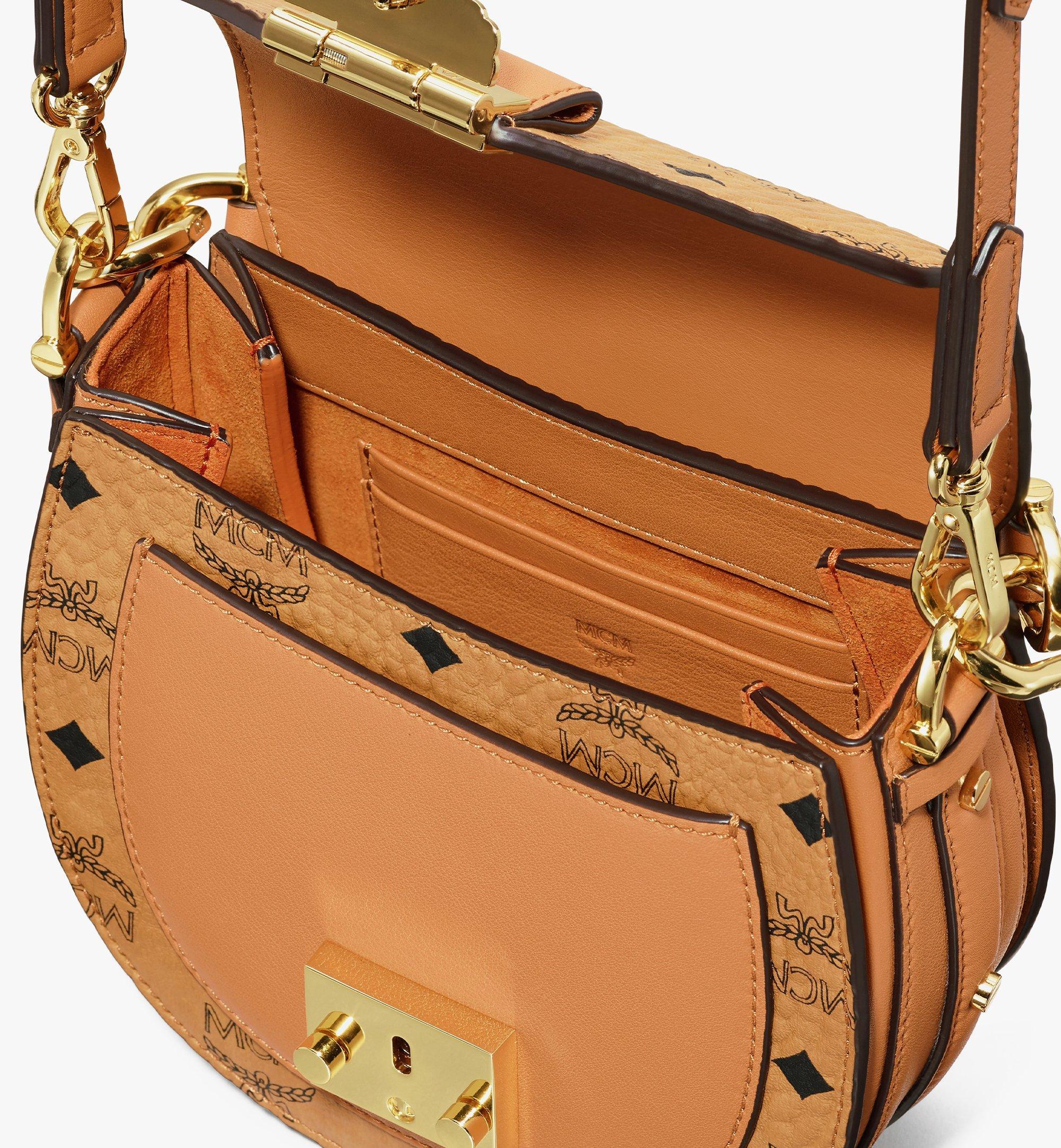 MCM Patricia Shoulder Bag in Visetos Cognac MWSASPA08CO001 Alternate View 4