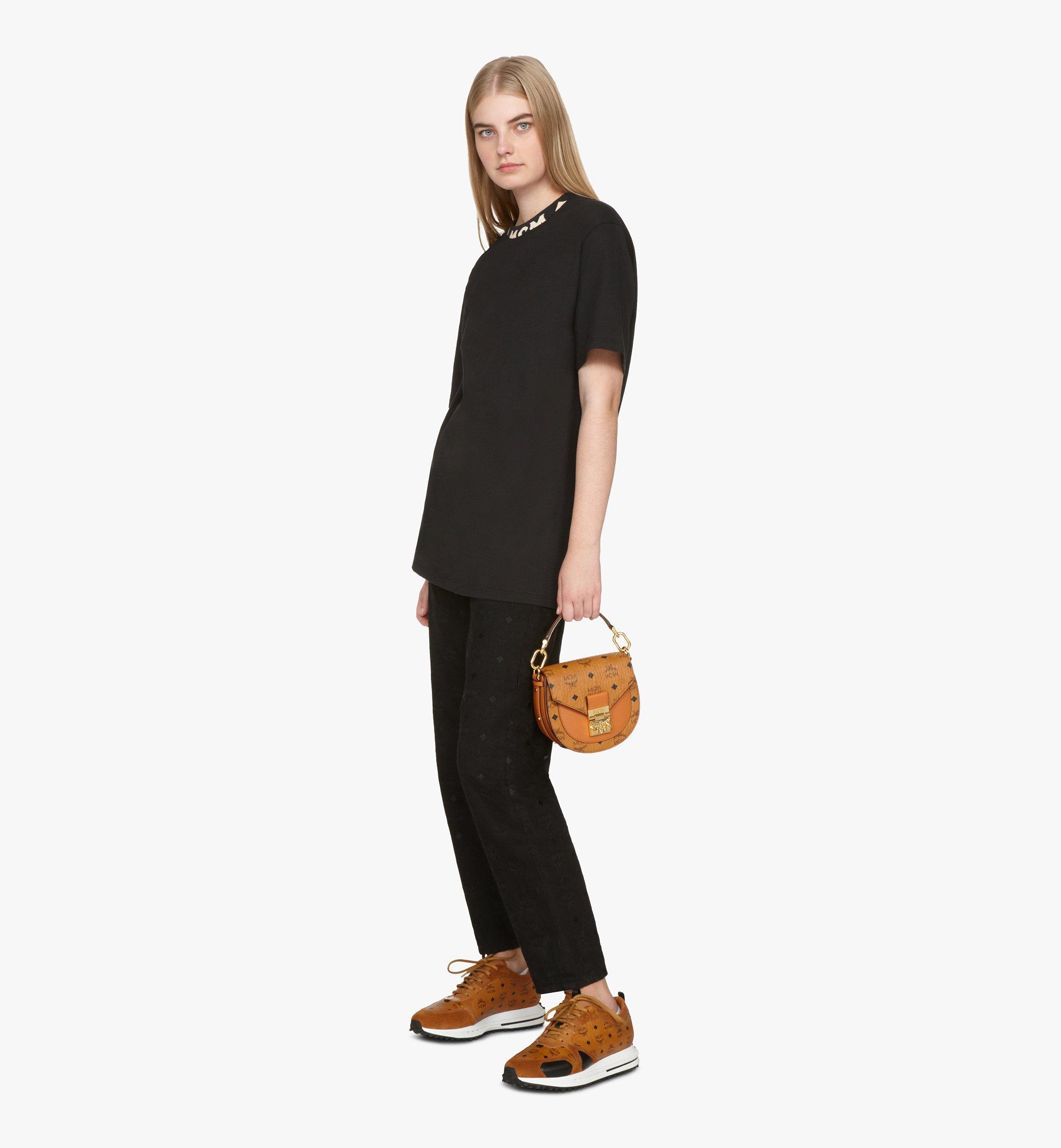 MCM Patricia Shoulder Bag in Visetos Cognac MWSASPA08CO001 Alternate View 6