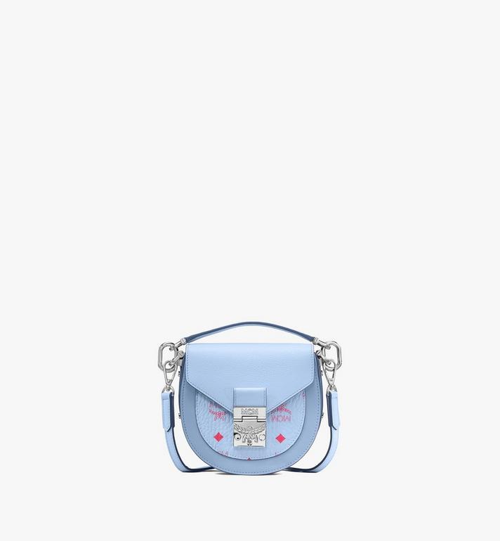 MCM Patrica Shoulder Bag in Color Block Visetos Alternate View