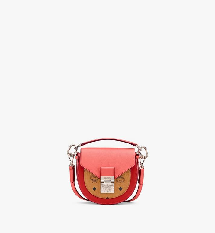 MCM Patricia Shoulder Bag in Color Block Visetos Alternate View
