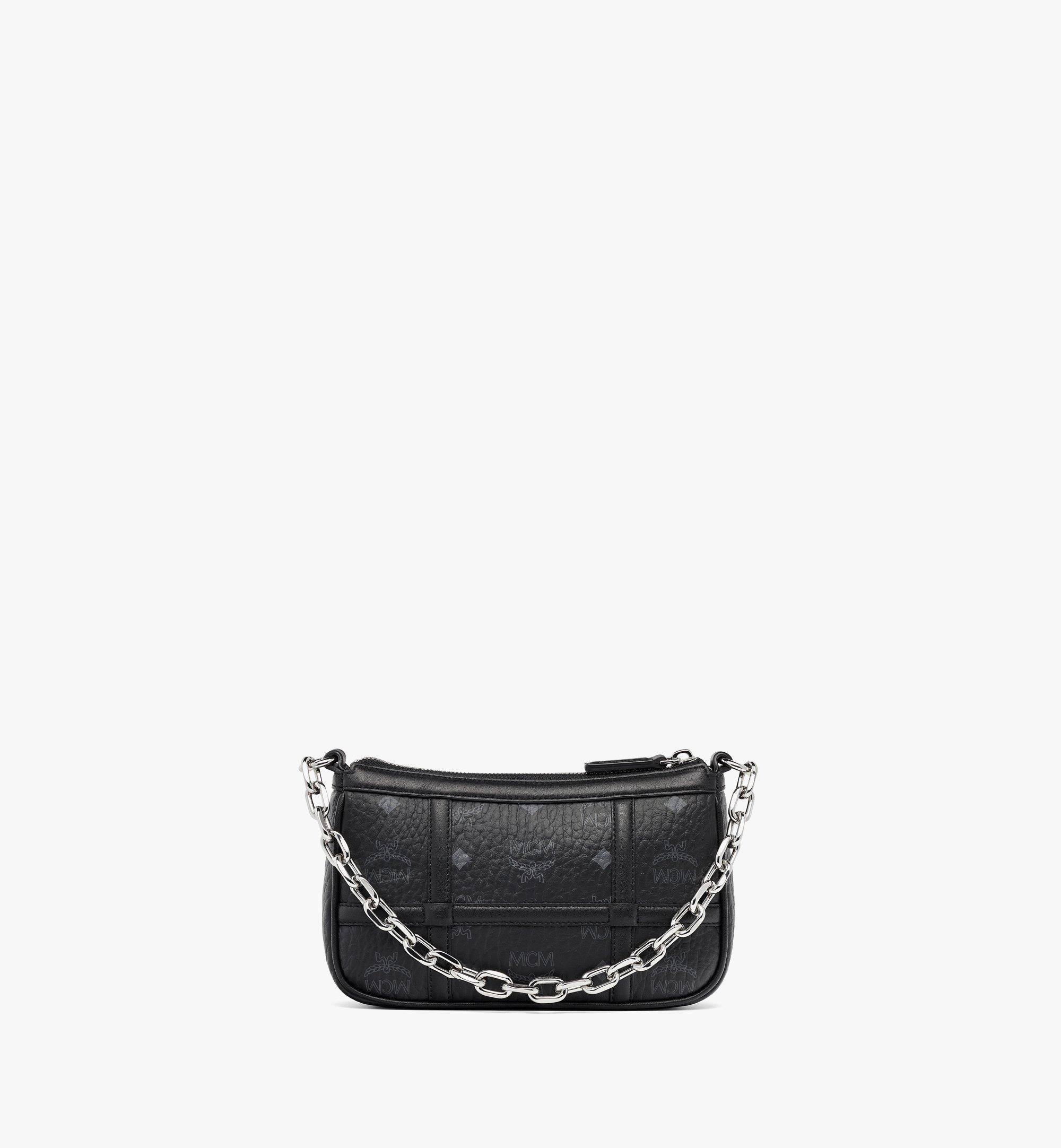 MCM Delmy Shoulder Bag in Visetos Black MWSBAER01BK001 Alternate View 1
