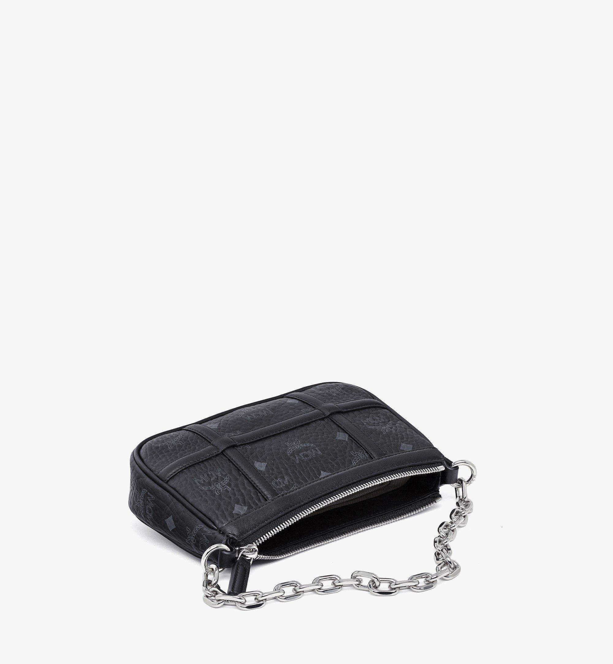 MCM Delmy Shoulder Bag in Visetos Black MWSBAER01BK001 Alternate View 2