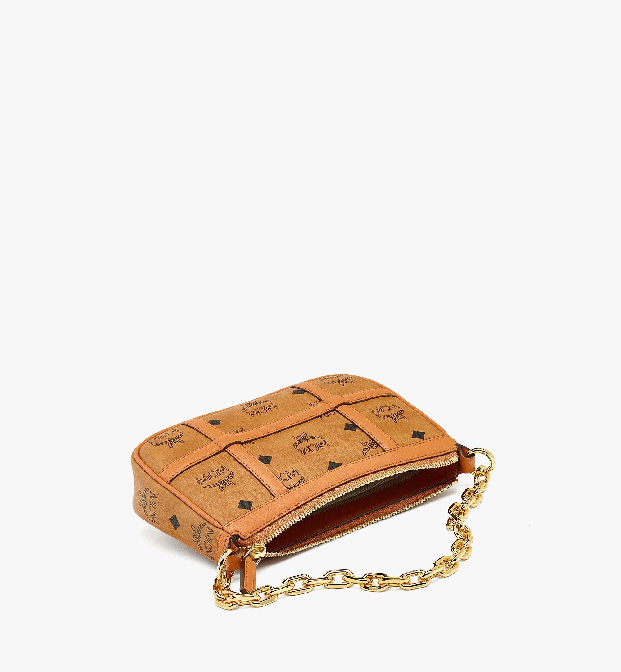 MCM Delmy Shoulder Bag in Visetos Cognac MWSBAER01CO001 Alternate View 2