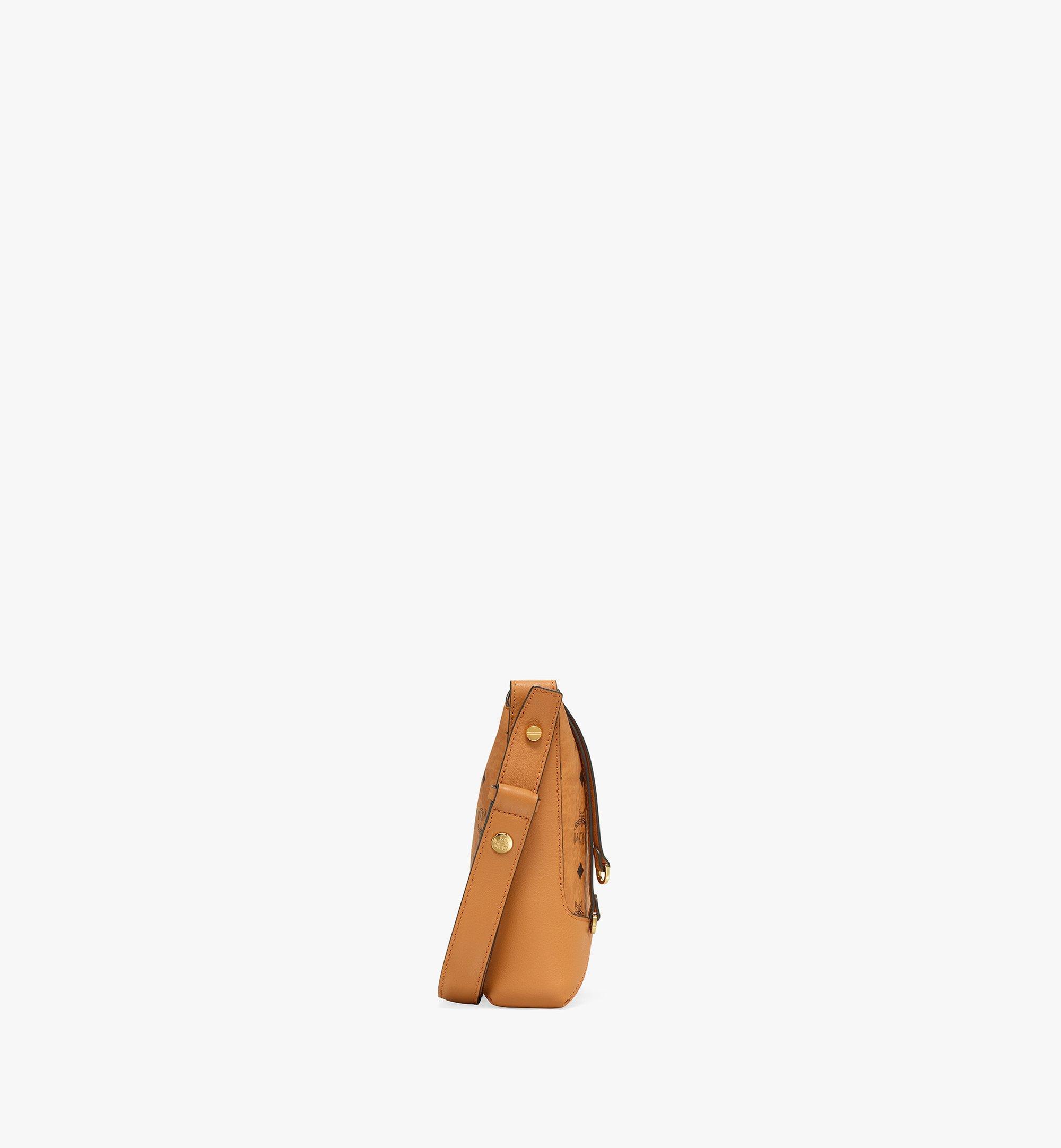 MCM Klara Shoulder Bag in Visetos Cognac MWSBSKM01CO001 Alternate View 1