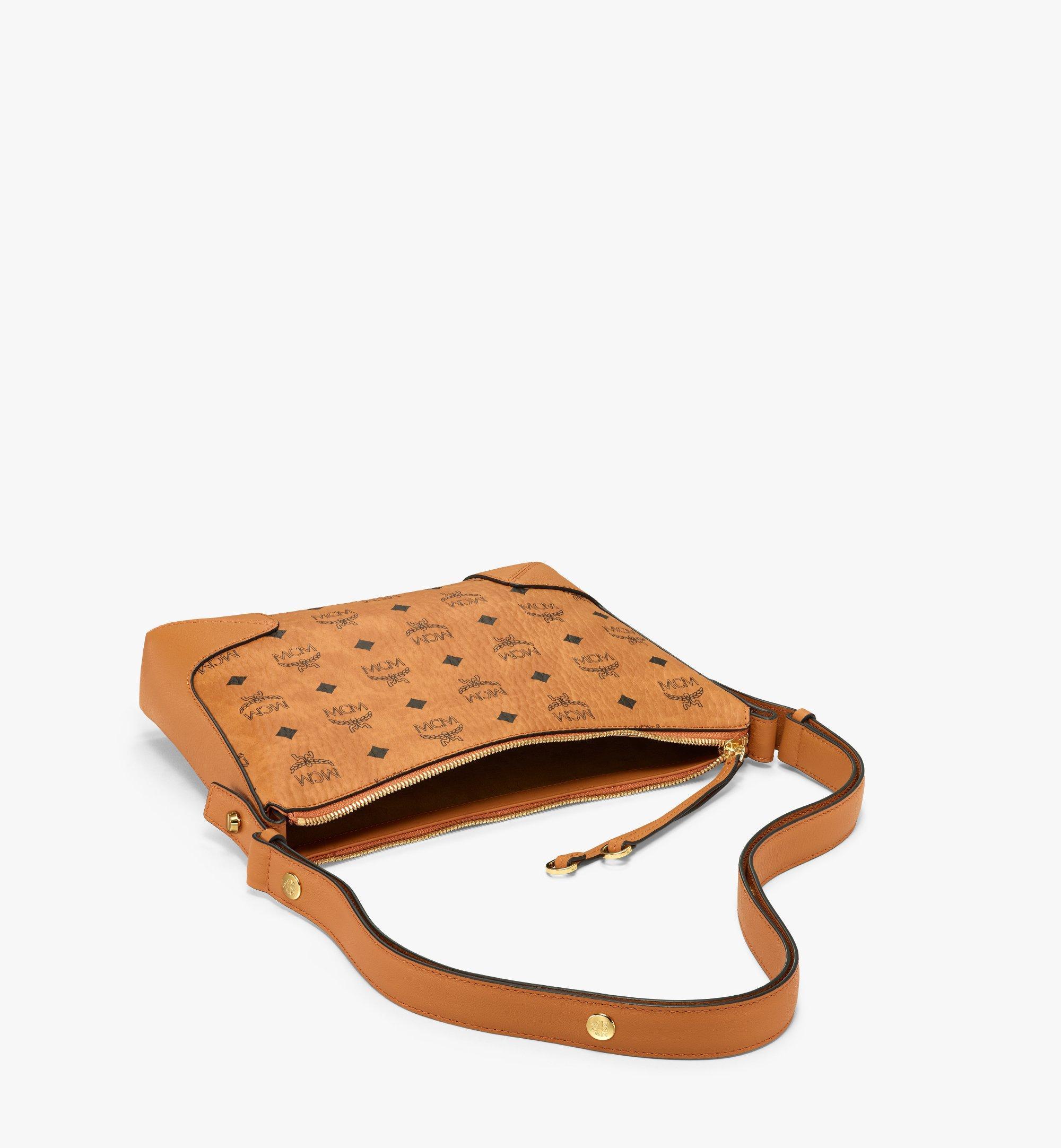 MCM Klara Shoulder Bag in Visetos Cognac MWSBSKM01CO001 Alternate View 2