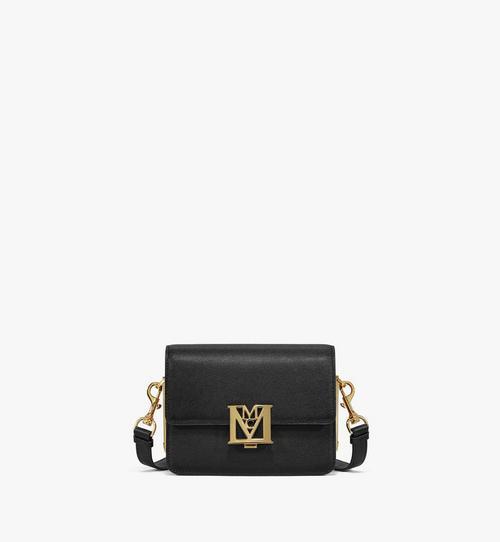 Mena Shoulder Bag in Visetos Leather Block