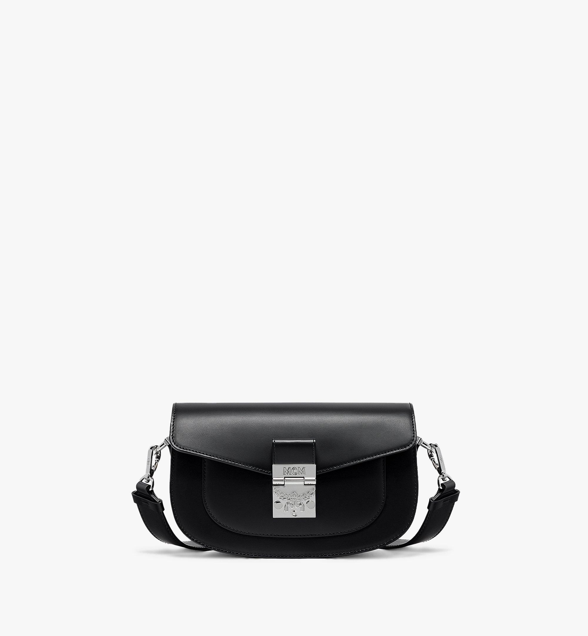 MCM E/W Patricia Shoulder Bag in Vachetta Leather Black MWSBSPA01BK001 Alternate View 1