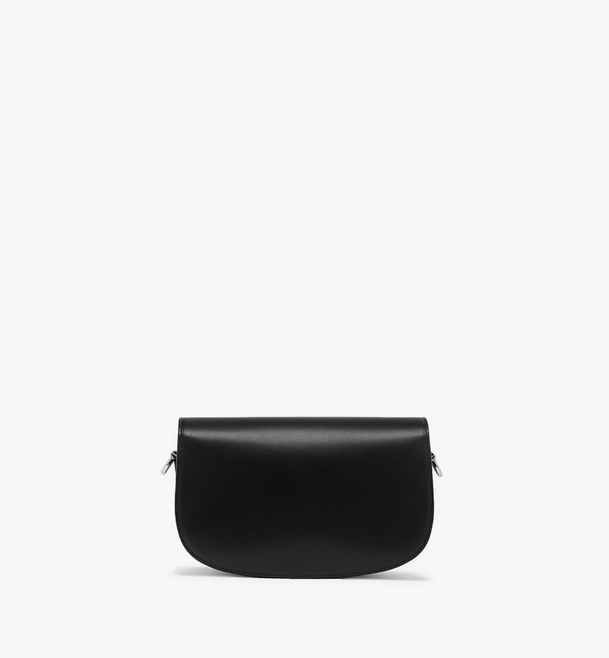 MCM E/W Patricia Shoulder Bag in Vachetta Leather Black MWSBSPA01BK001 Alternate View 3