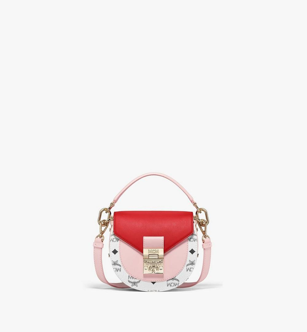 Patricia Shoulder Bag in Visetos Leather Block 1
