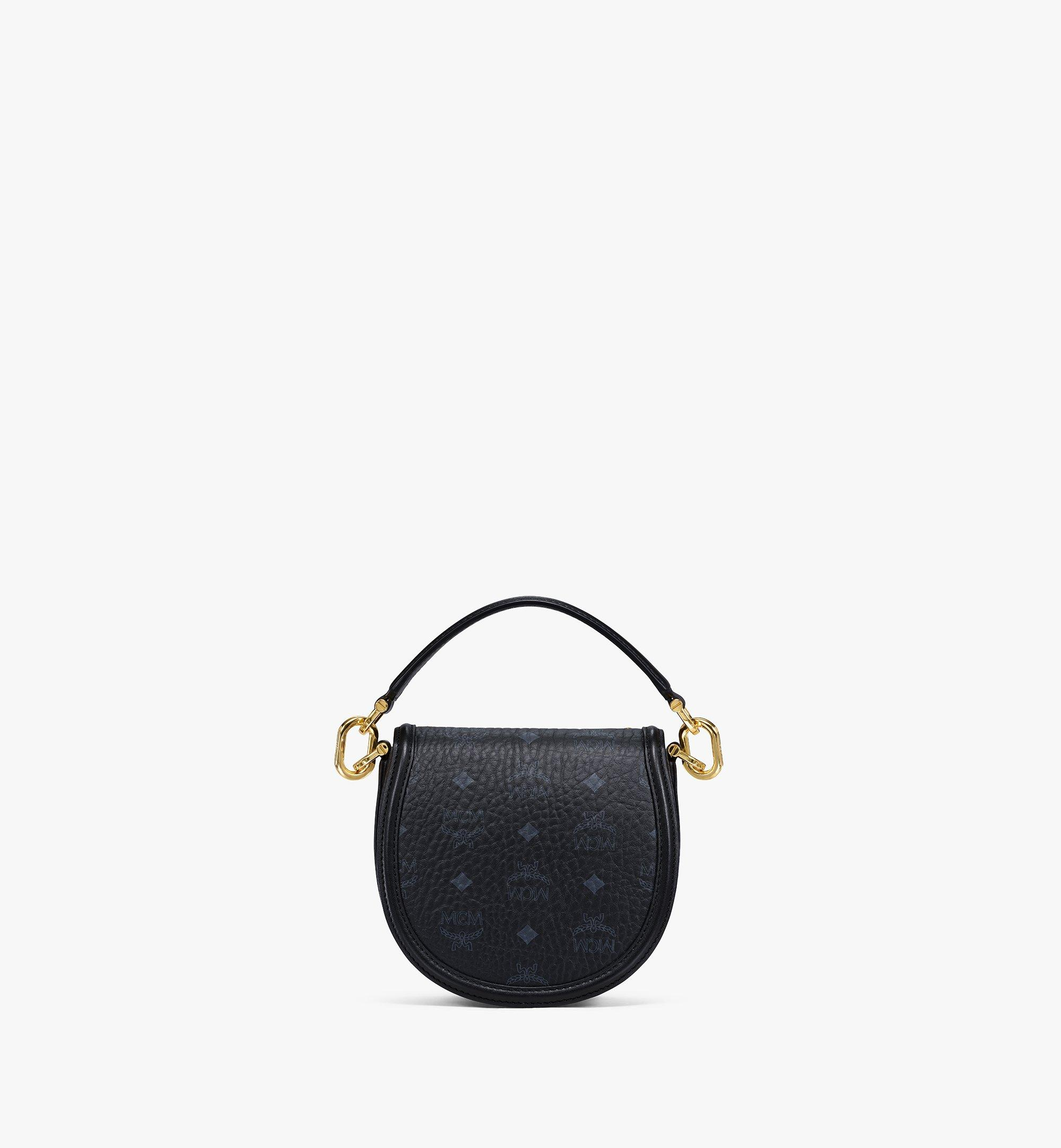 MCM Shoulder Bag in Crystal Visetos Black MWSBSVI01BK001 Alternate View 3