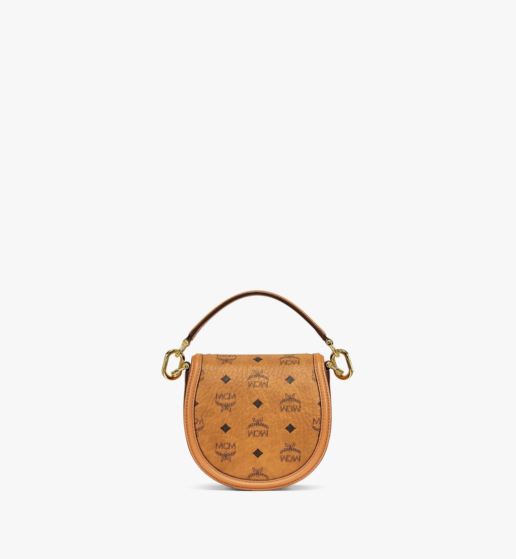 MCM Shoulder Bag in Crystal Visetos Cognac MWSBSVI01CO001 Alternate View 3