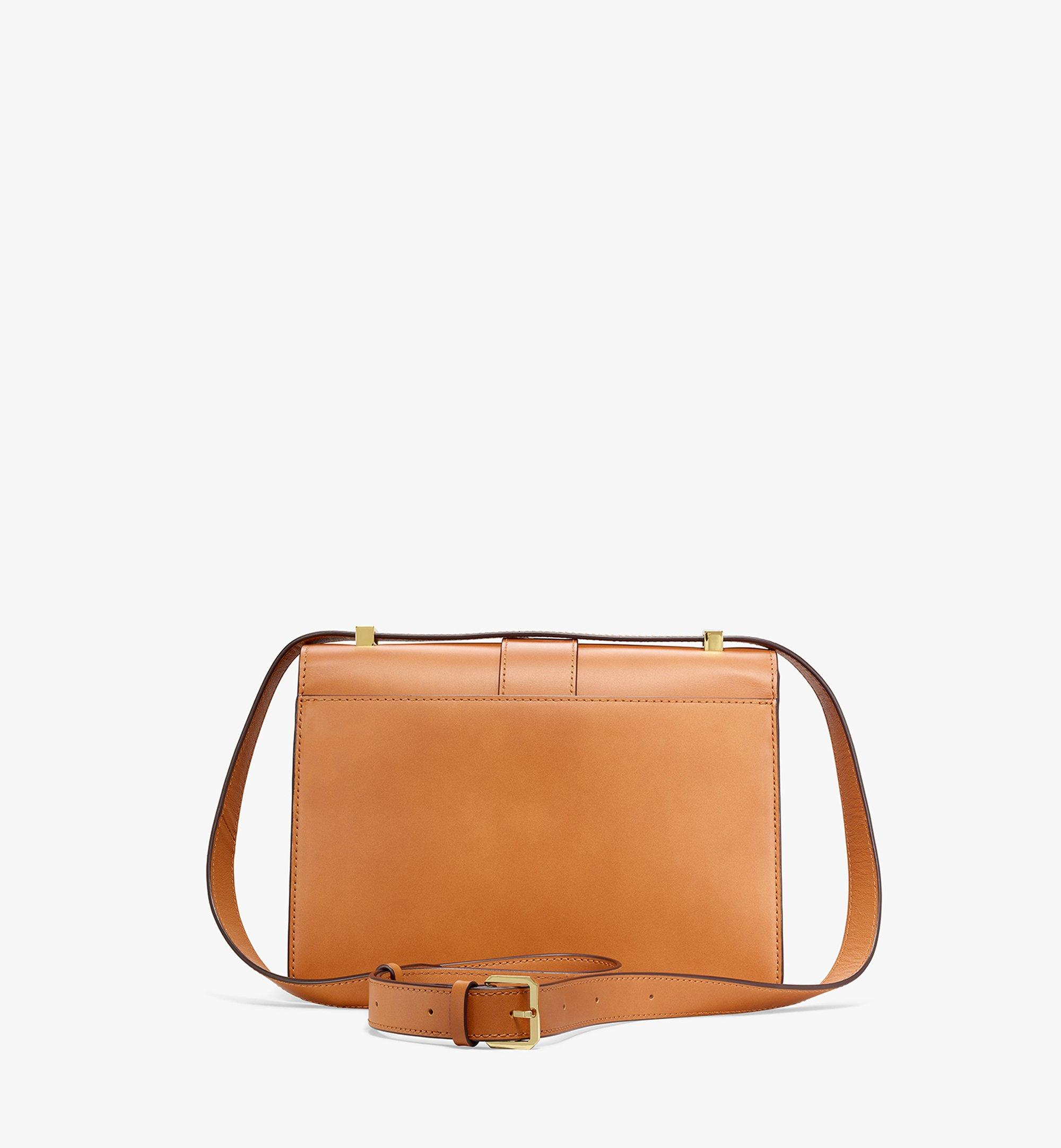 MCM Tracy Shoulder Bag in Visetos Leather Mix Cognac MWSBSXT01CO001 Alternate View 3