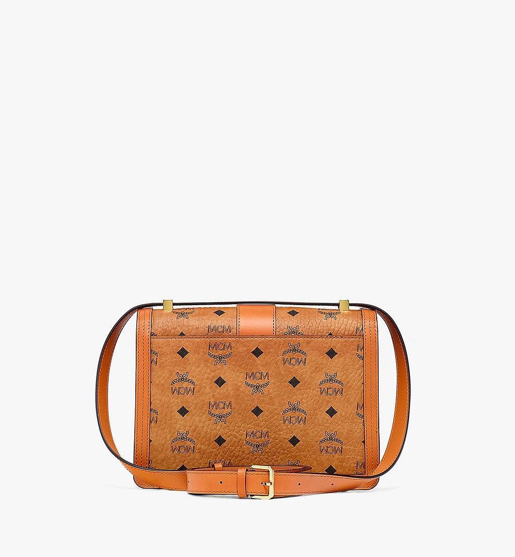 MCM Tracy Shoulder Bag in Visetos Cognac MWSBSXT02CO001 Alternate View 3