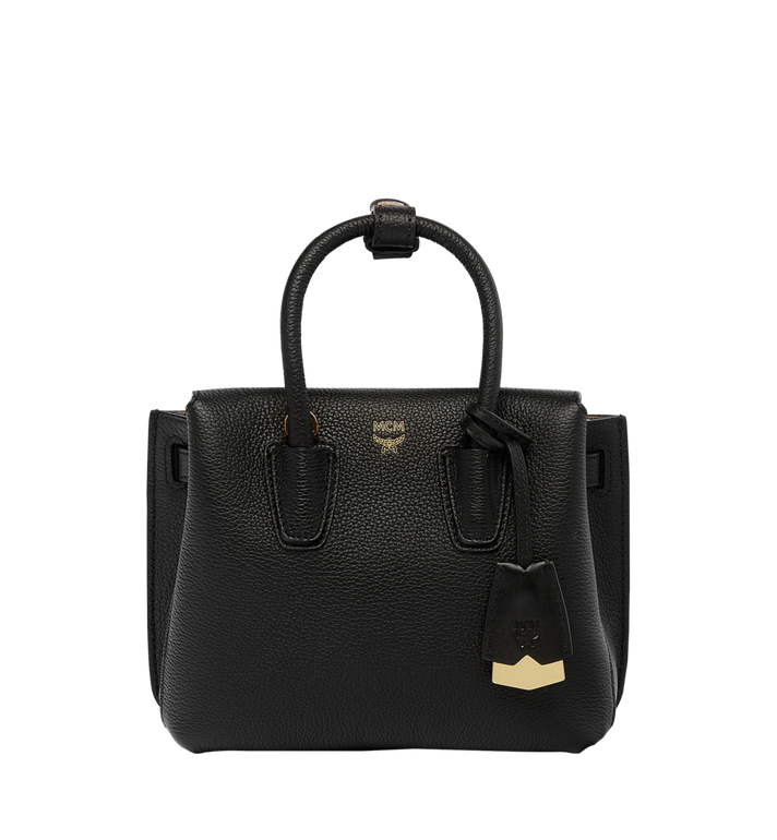 MCM Milla Tote in Grained Leather AlternateView