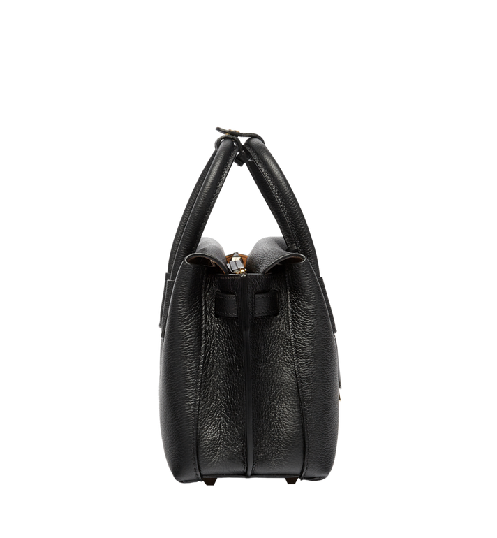 MCM Milla Tote in Grained Leather AlternateView3