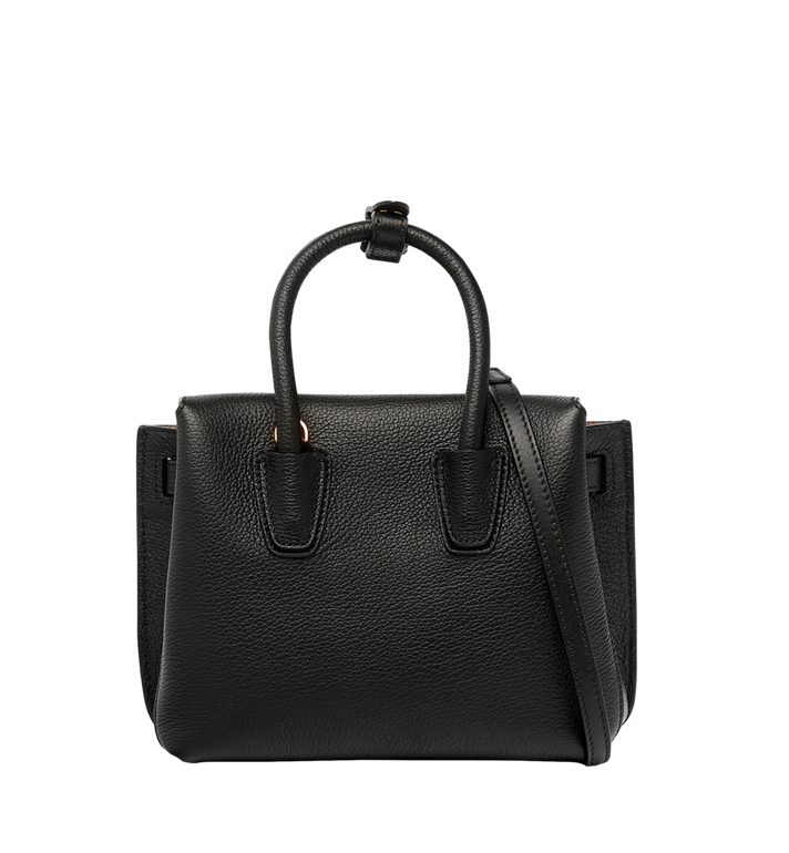 MCM Milla Tote in Grained Leather AlternateView4