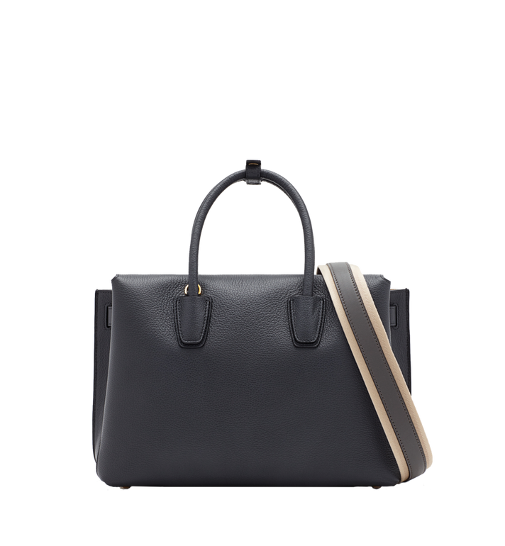 MCM Milla Tote in Grained Leather Alternate View 4