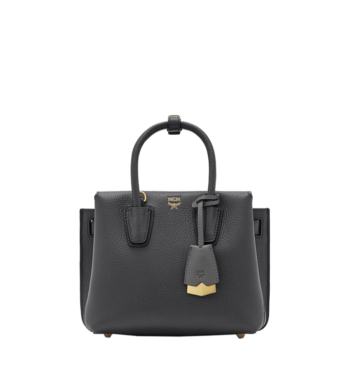 MCM Milla Tote in Grained Leather MWT6SMA05EP001 AlternateView